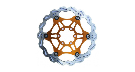 Clarks Lightweight Disc-Rotor 6-Loch orange